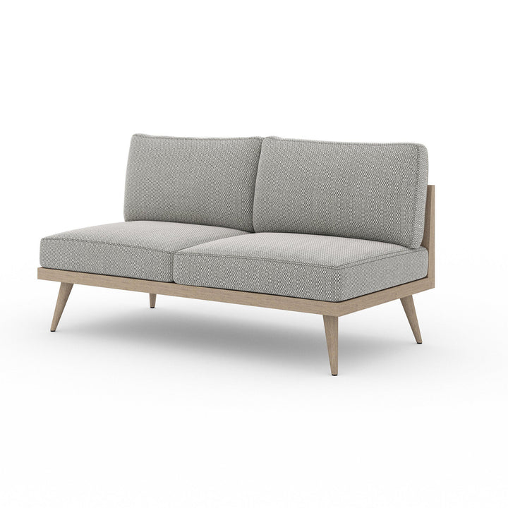 "Tilly 60"" Outdoor Sofa (Washed Brown & Ash) 