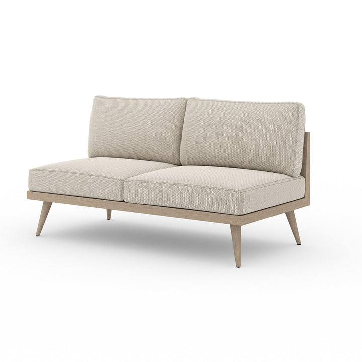 "Tilly 60"" Outdoor Sofa (Washed Brown & Sand) 