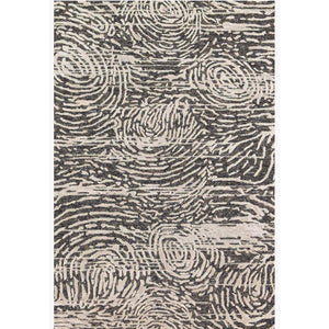 Juneau Rug Collection: Multiple Sizes & Shapes - (Charcoal/Silver)