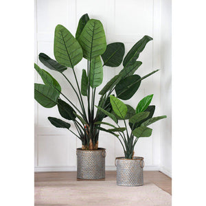 Seneca Metal Planters: Set of 3