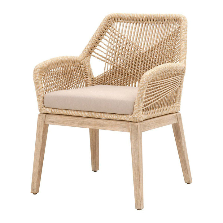 Loom Rope Arm Chair - Set of 2 (Sand)