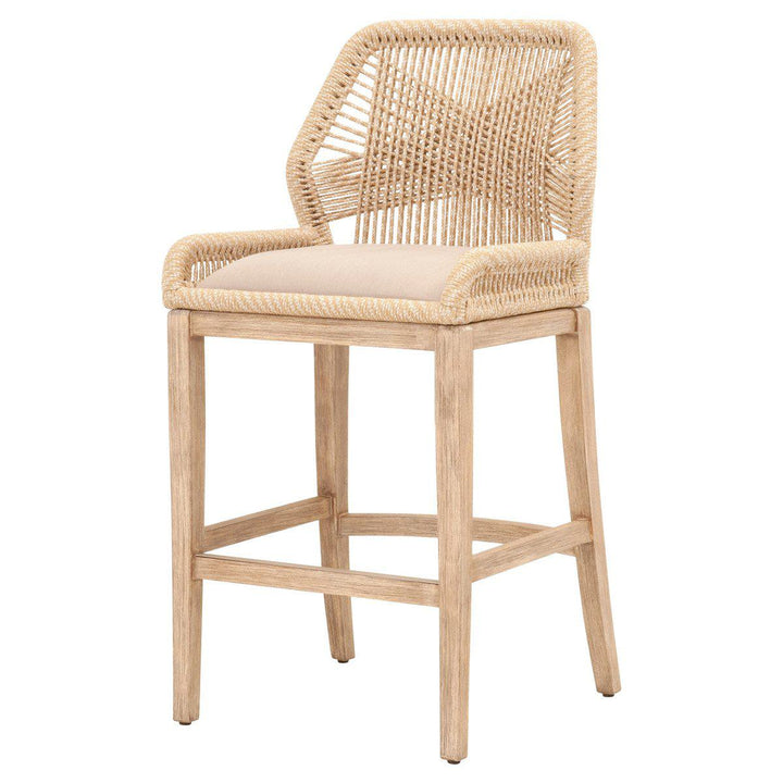 Loom Rope Counter or Bar Stool (Sand)