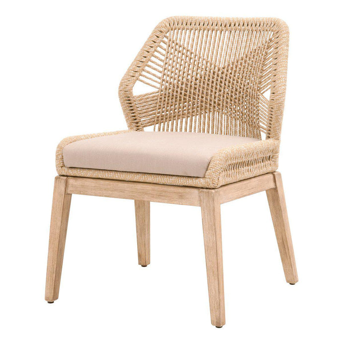 Loom Rope Dining Chair - Set of 2 (Sand)