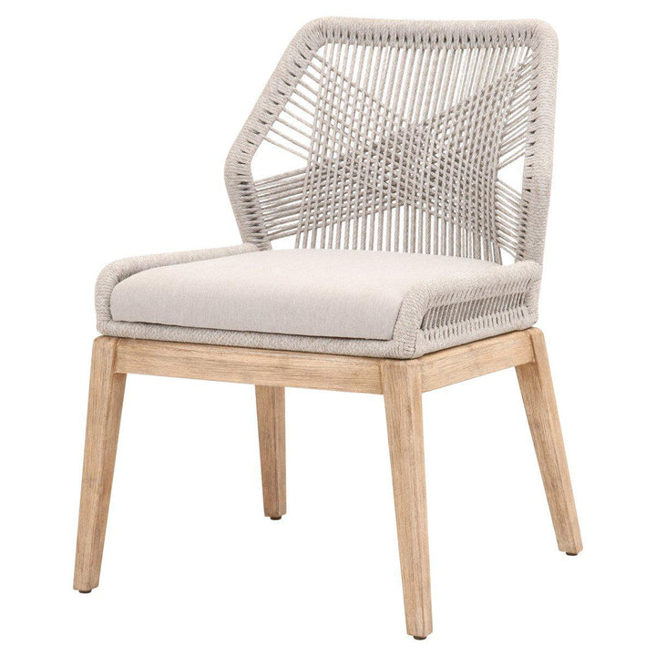 Loom Dining Chair- Set of 2 (Taupe)