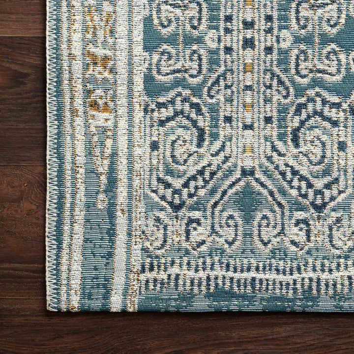 Loloi Mika Collection Indoor/Outdoor Rugs - Multiple Sizes (Ocean)