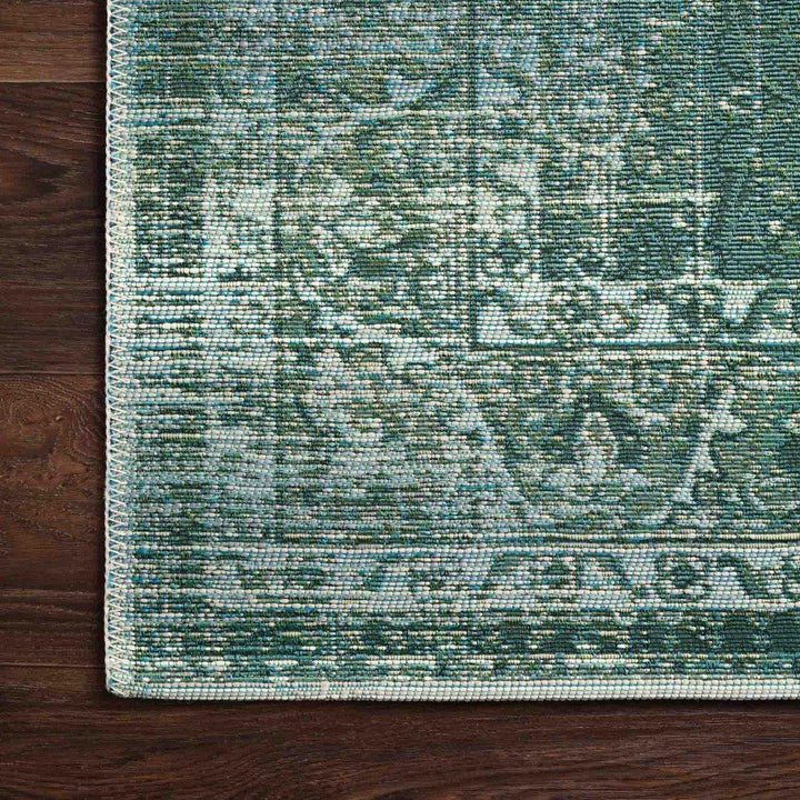 Loloi Mika Collection Indoor/Outdoor Rugs - Multiple Sizes (Green Mist)