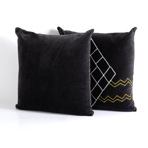 "Marilyn 20"" Velvet Pillow - Set of 2"