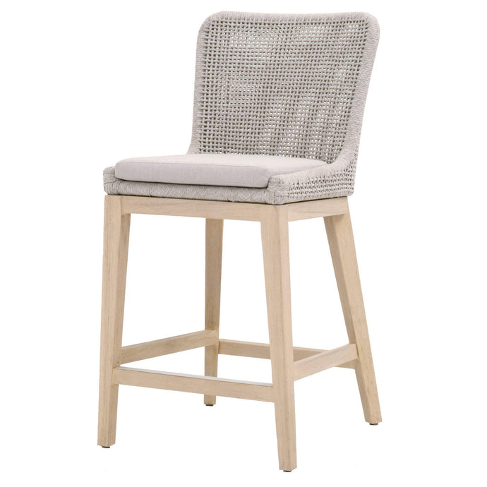 Mesh Outdoor Counter Stool (Taupe)