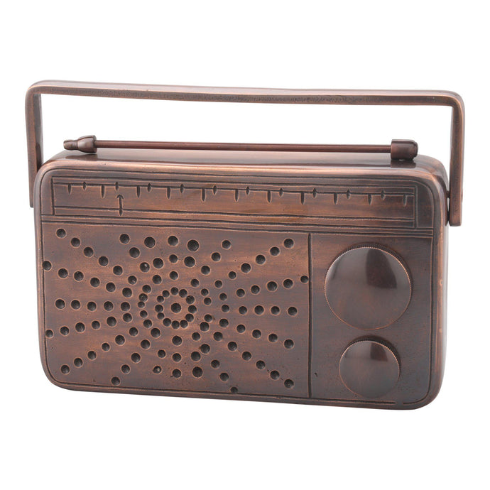 Retro Radio Table Top (Antique Bronze)