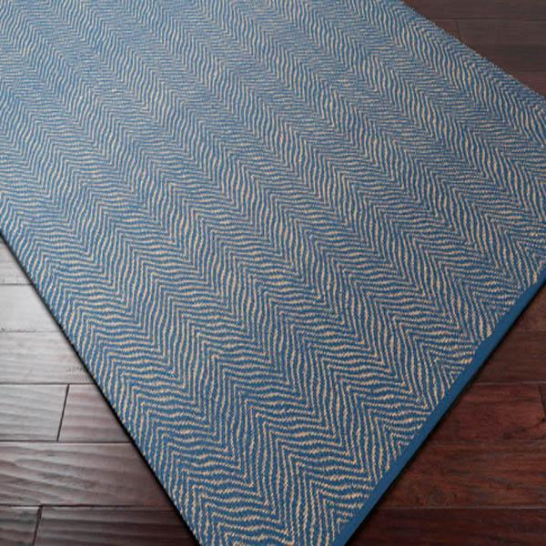 Lucy Recycled Hand Woven Indoor/Outdoor Rug Collection - Multiple Sizes (Blue) | Outdoor | parker-gwen