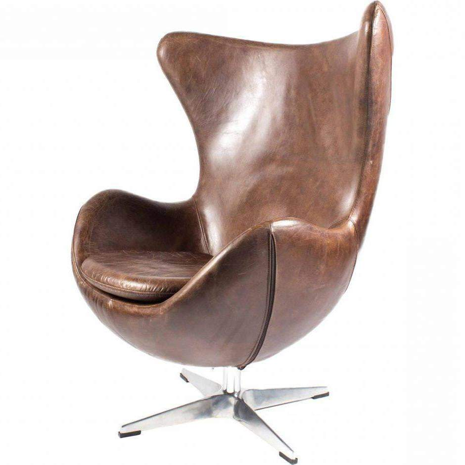 ST ANNE Leather Club Chair - Parker Gwen