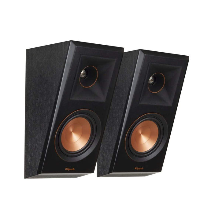 Klipsch Reference Premiere RP-500SA DOLBY ATMOS ELEVATION / SURROUND SPEAKER PAIR (Ebony) - Parker Gwen