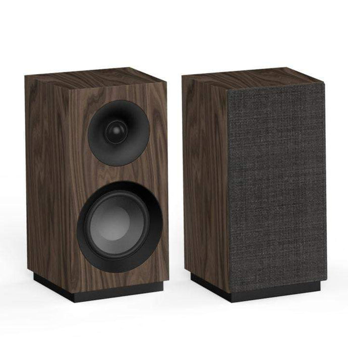 Jamo S 801 BOOKSHELF SPEAKER Pair (Walnut) - Parker Gwen
