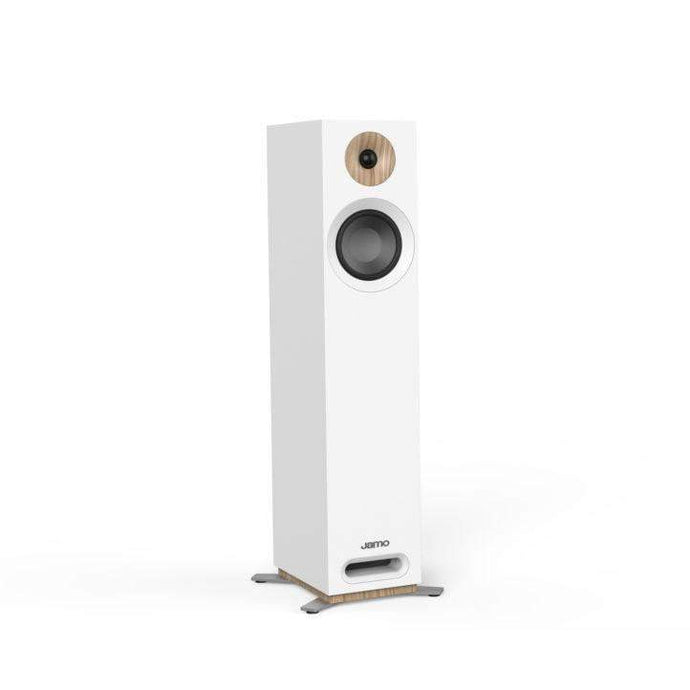 Jamo S 805 FLOORSTANDING SPEAKER Pair (White) - Parker Gwen