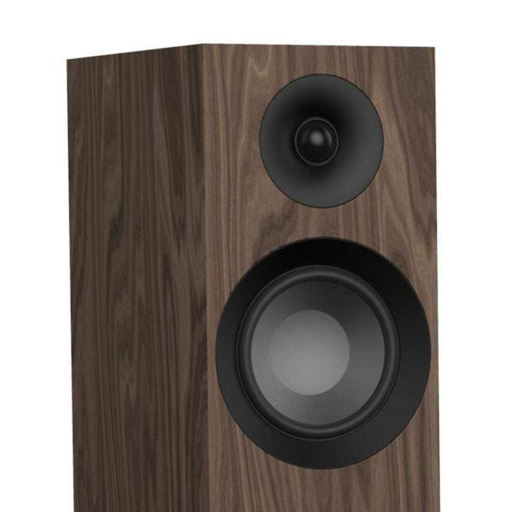 Jamo S 805 FLOORSTANDING SPEAKER Pair (Walnut) - Parker Gwen