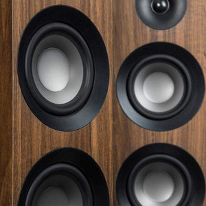Jamo S 809 FLOORSTANDING SPEAKER Pair (Walnut) - Parker Gwen
