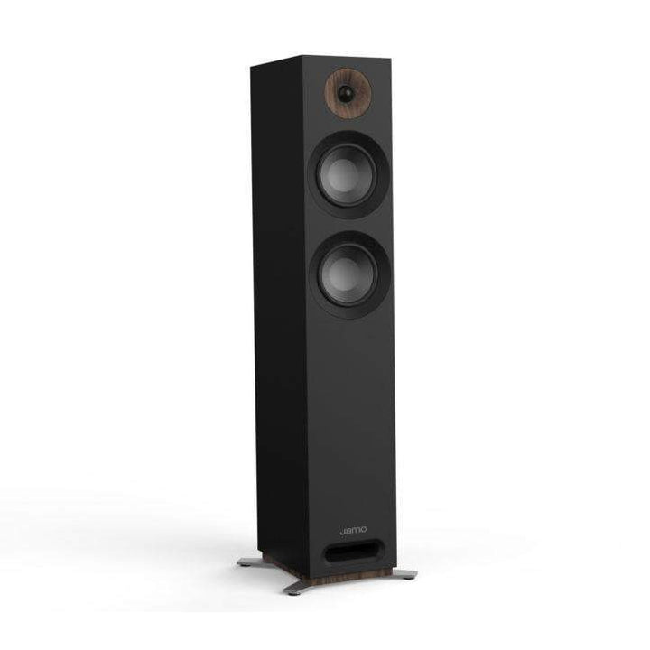Jamo S 807 FLOORSTANDING SPEAKER PAIR (Black) - Parker Gwen