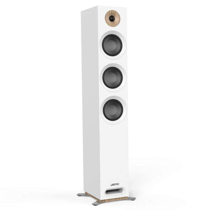 Jamo S 809 FLOORSTANDING SPEAKER Pair (White) - Parker Gwen