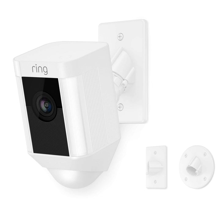 Ring Spotlight Camera Mount (White) - Parker Gwen
