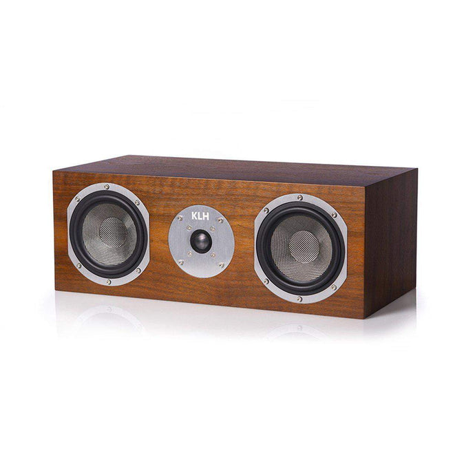 KLH Story Center Channel Speaker (Walnut) - Parker Gwen