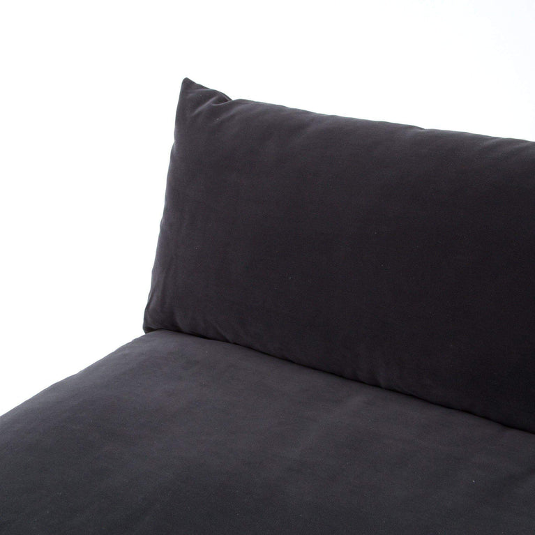 Grant Armless Sofa Sectional (Henry Charcoal) - Atelier - Parker Gwen