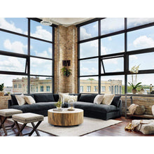 Grant Corner Sofa Sectional Piece (Henry Charcoal) - Atelier