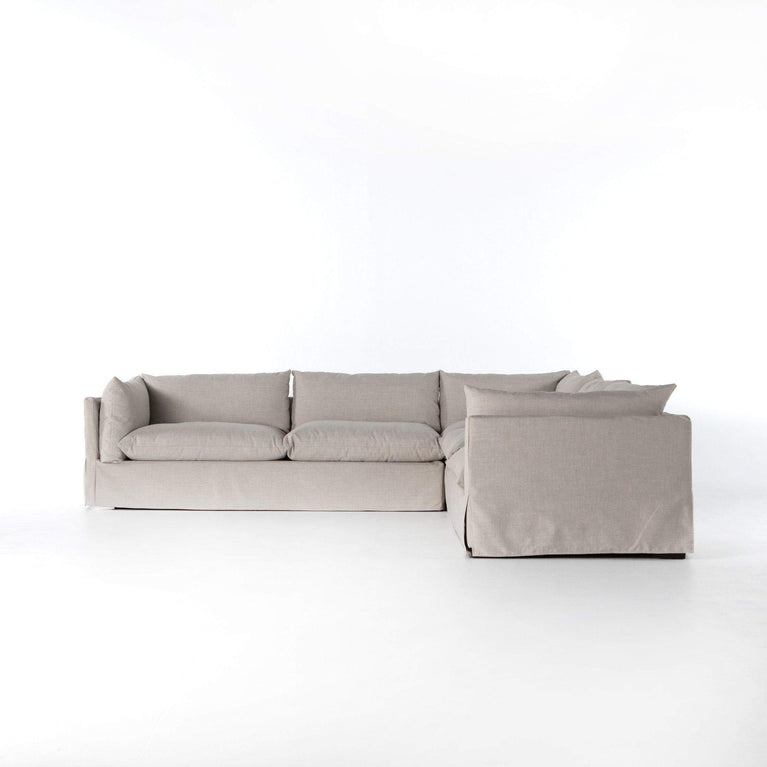Habitat Slipcover Sectional - Atelier Collection - Parker Gwen