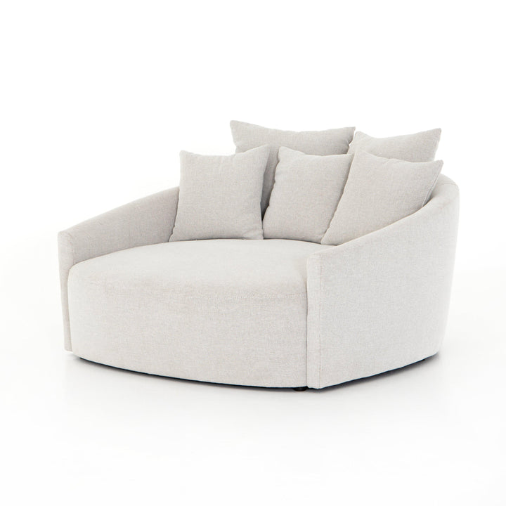 Chloe Media Lounger (Delta Bisque) | Accent Chair | parker-gwen