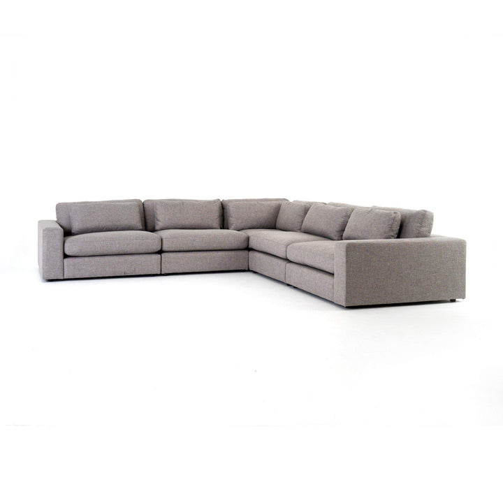 Bloor 5-Piece Sectional (Chess Pewter) - Parker Gwen