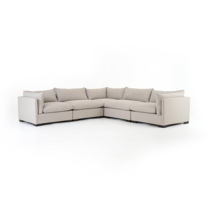 Westwood 5-Piece Sectional (Bennett Moon) | Sectional | parker-gwen