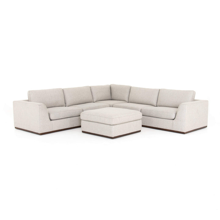Colt 3 Piece Sectional (Aldred Silver) - Centrale Colllection