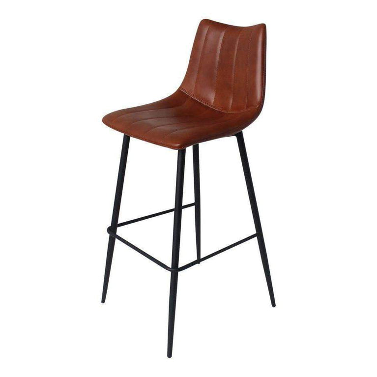 Alibi Bar or Counter Stool (Brown) - Set of Two - Parker Gwen