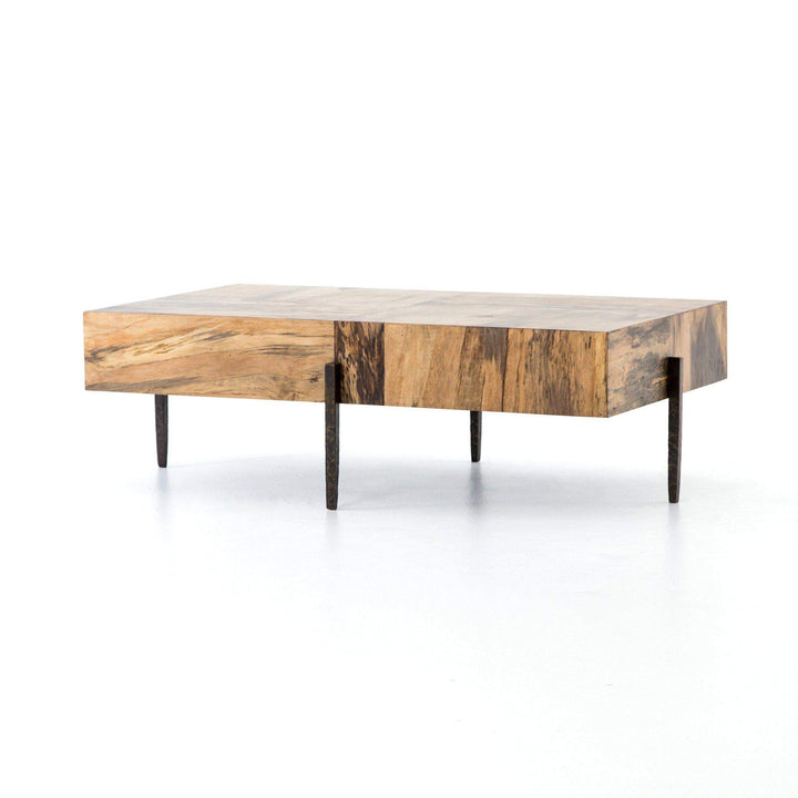 Indra Coffee Table (Spalted Primavera) - Wesson Collection - Parker Gwen