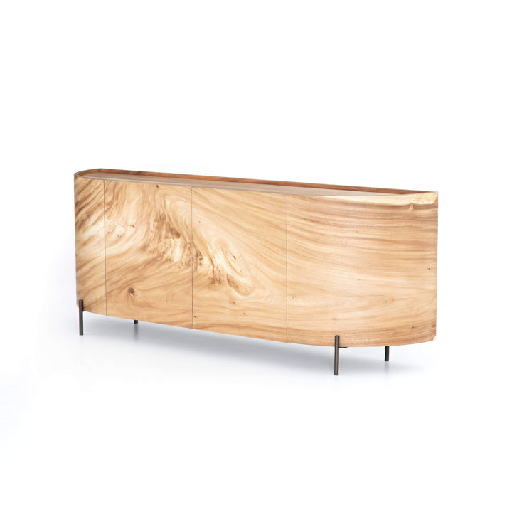 "Lunas 77"" Guanacaste Wood Sideboard - Wesson Collection"