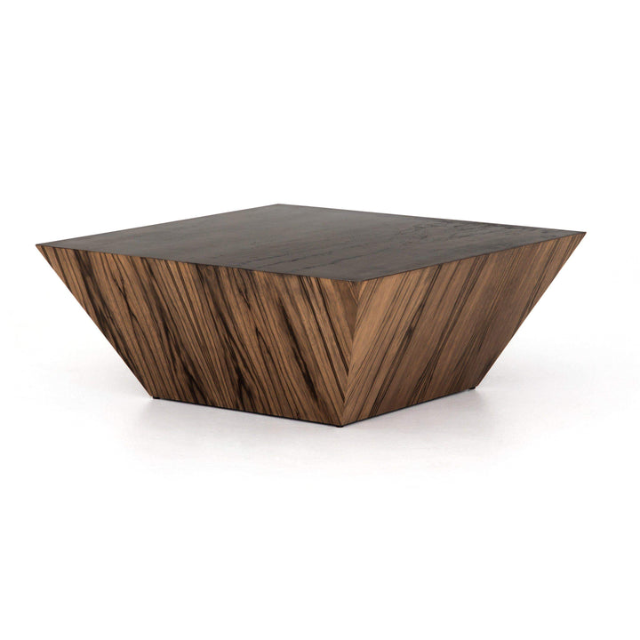 "Saxon 40"" Wood Coffee Table - Wesson Collection"