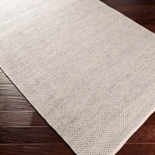 Bella Recycled Hand Woven Indoor/Outdoor Rug Collection - Multiple Sizes & Runner (Light Gray) | Outdoor | parker-gwen