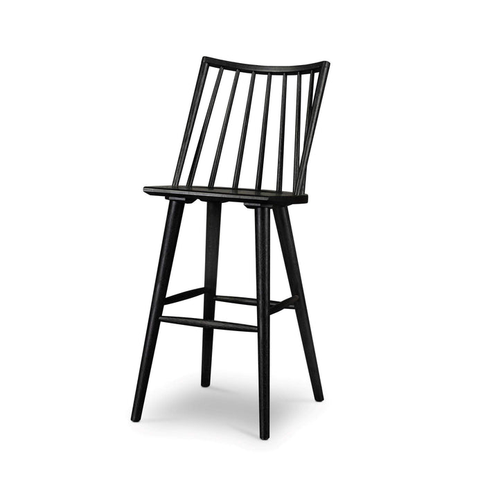 Lewis Windsor Counter & Bar Stool (Black Oak) - Parker Gwen