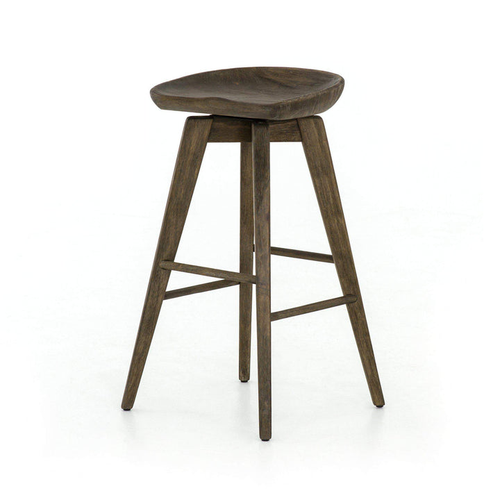 Paramore Wood Swivel Bar & Counter Stool - Parker Gwen
