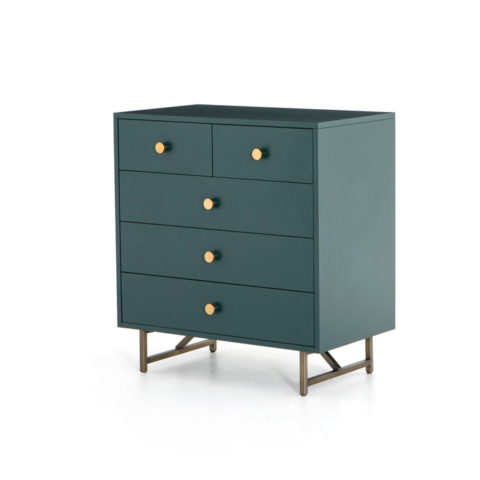 Van 5-Drawer Dresser (Juniper Green)