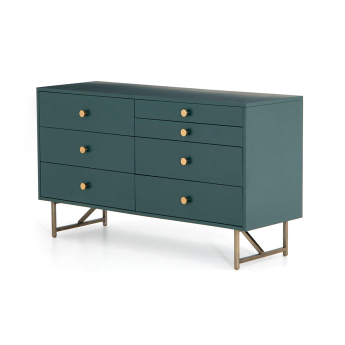 Van 7-Drawer Dresser (Juniper Green)