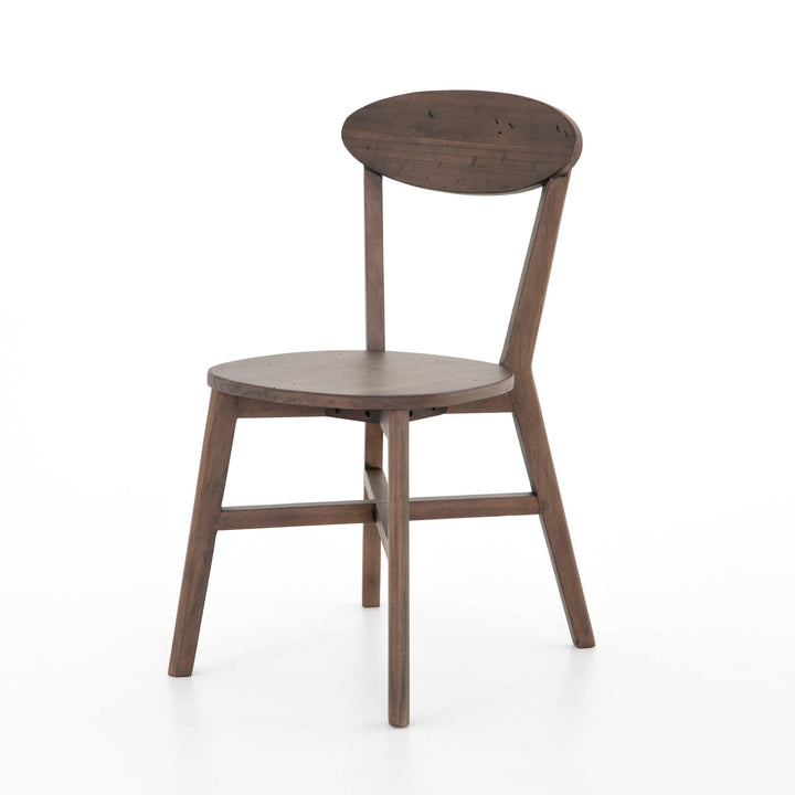 "Roseum 34"" Dining Chair (Rustic Saddle Tan) 
