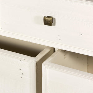 Cintra Reclaimed 7-Drawer Dresser (Limestone White)