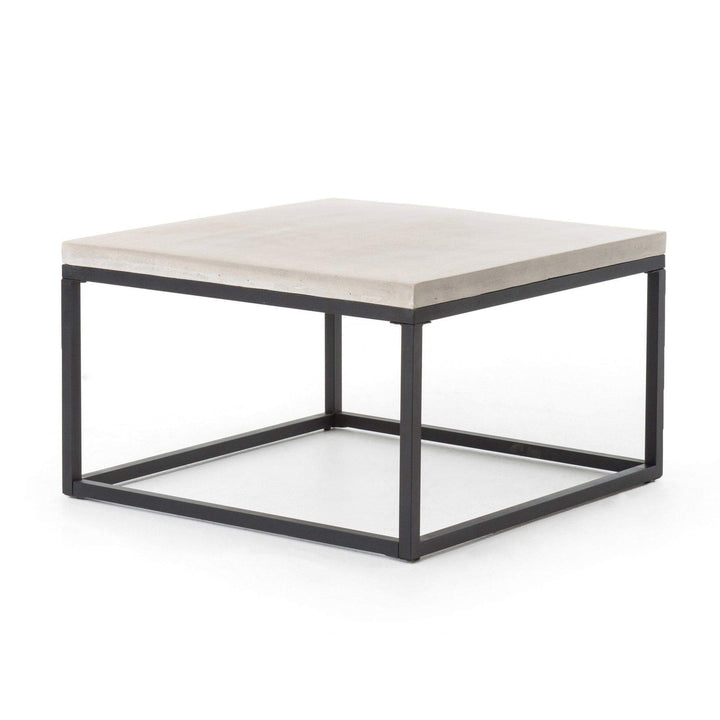 "Maximus 30"" Square Concrete Top Coffee Table - Parker Gwen"