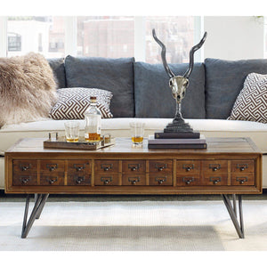 "Javadi Letter Box 51"" Coffee Table - Parker Gwen"