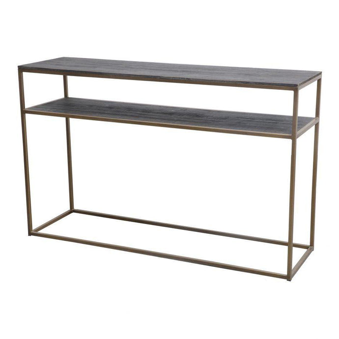 STUDIO Brass CONSOLE TABLE | Console Table | parker-gwen