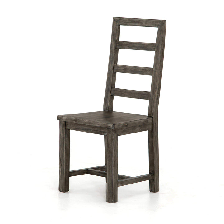 Post & Rail Dining Chair (Black Olive) - Parker Gwen