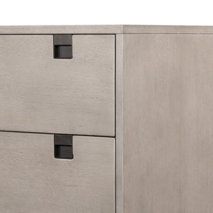Carly 5-Drawer Dresser (Grey Wash) | Dresser | parker-gwen