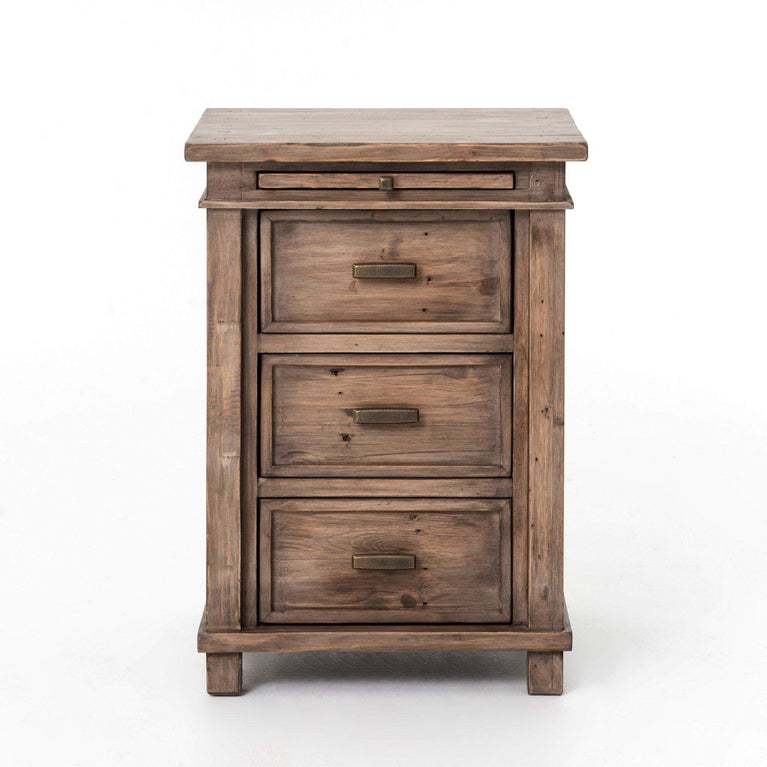 Settler Collection Bedside Nightstand (Sun Ash) | Nightstand | parker-gwen