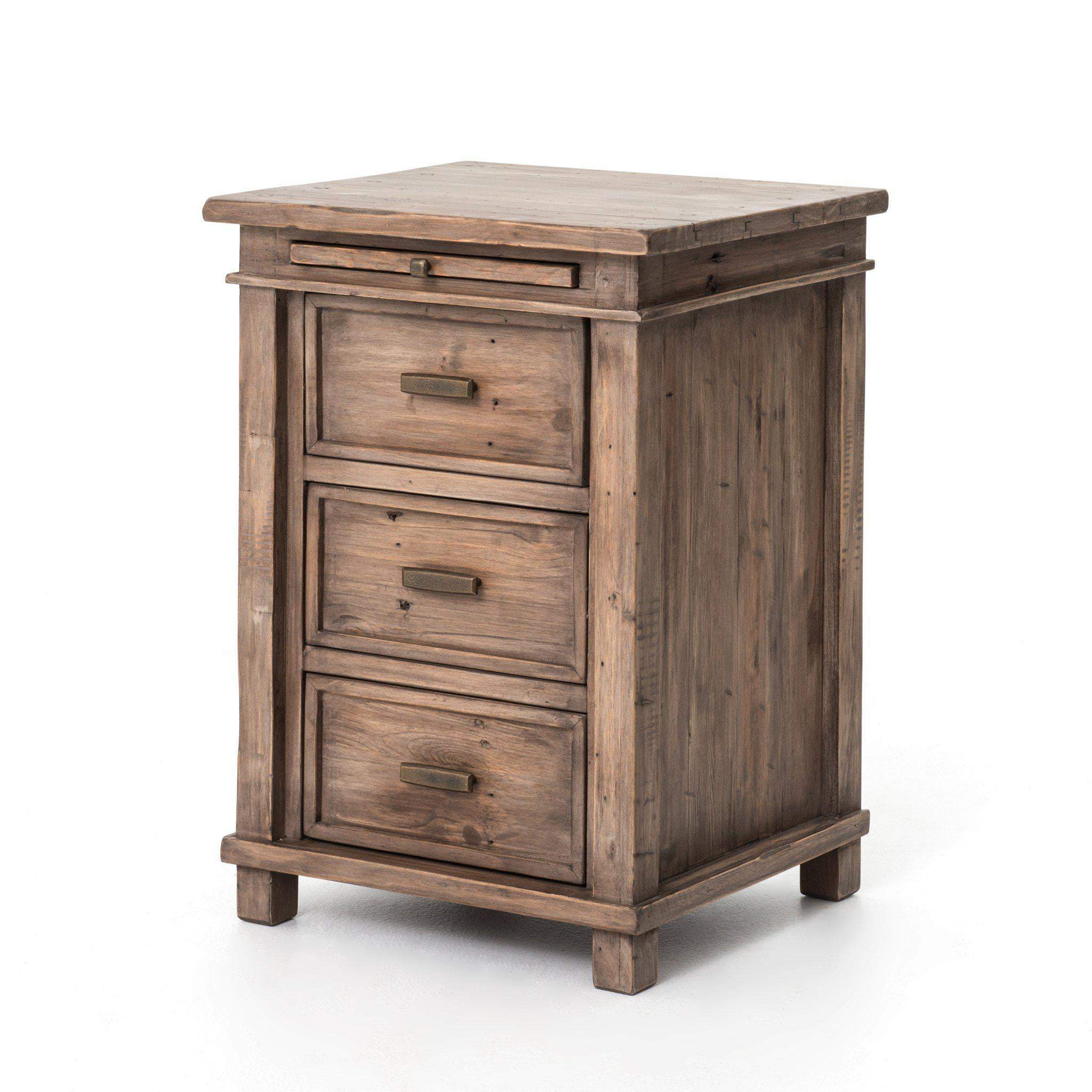 Settler Collection Bedside Nightstand (Sun Ash)