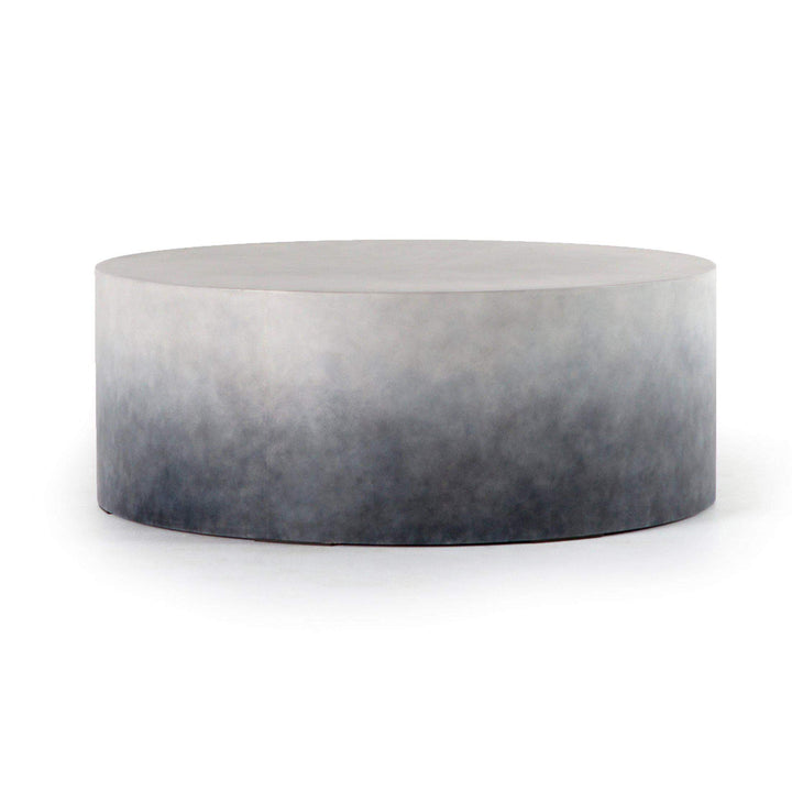 "Sheridan Concrete 42"" Coffee Table (Indigo Ombre) - Parker Gwen"